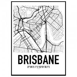 Brisbane Karta