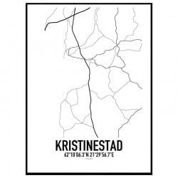 Kristinestad Karta