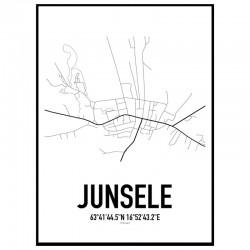 Junsele Karta Poster