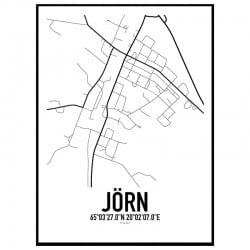 Jörn Karta Poster