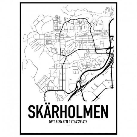 Skärholmen Karta