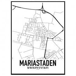 Mariastaden Karta