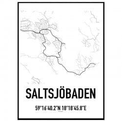 Saltsjöbaden Karta