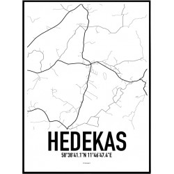 Hedekas Karta Poster