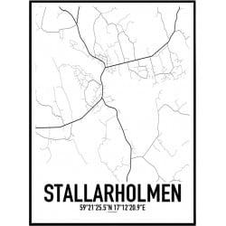 Stallarholmen Karta