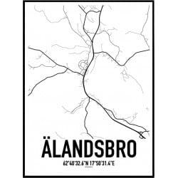 Älandsbro Karta