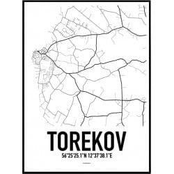 Torekov Karta Poster