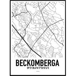 Beckomberga Karta