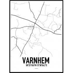 Varnhem Karta Poster