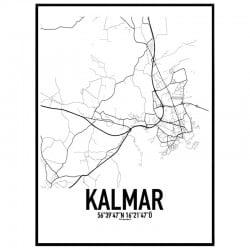 Kalmar 2 Karta Poster