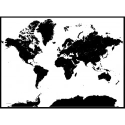 World Map Karta