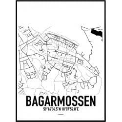 Bagarmossen Karta Poster