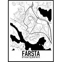 Farsta Karta Poster