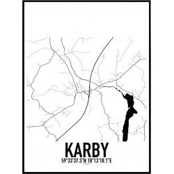 Karby Karta Poster