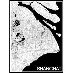 Karta Shanghai Poster