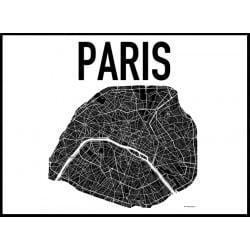 Karta Paris Poster