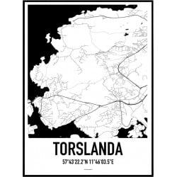 Torslanda Karta Poster