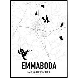 Emmaboda Karta Poster