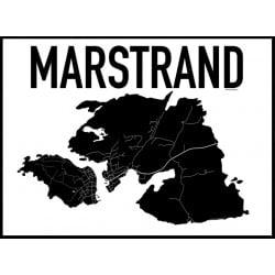 Karta Marstrand Poster