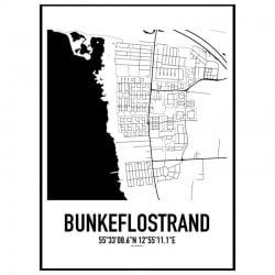 Bunkeflostrand Karta