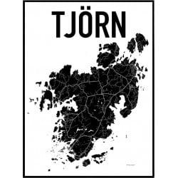 Karta Tjörn Poster