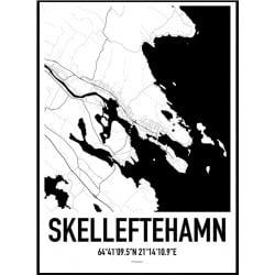Skelleftehamn Karta