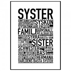 Syster Poster