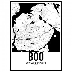 Boo Karta Poster