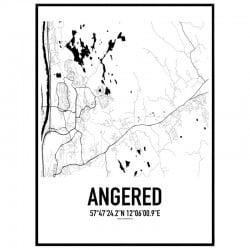Angered Karta Poster