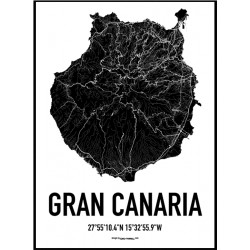 Gran Canaria Karta