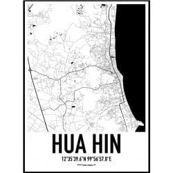 Hua Hin Karta Poster