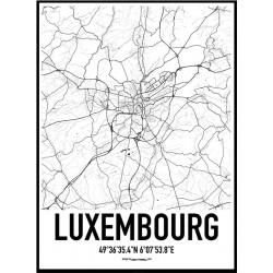 Luxembourg Karta