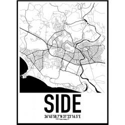Side Karta Poster
