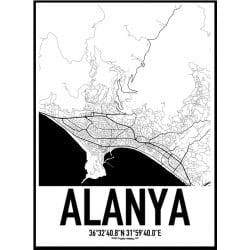 Alanya Karta Poster