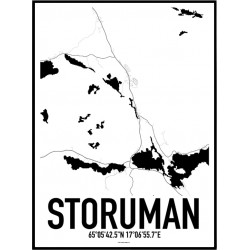 Storuman Karta Poster