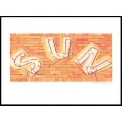 Sun Memphis Poster
