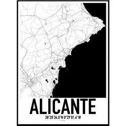 Alicante XL Karta