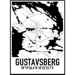 Gustavsberg Karta
