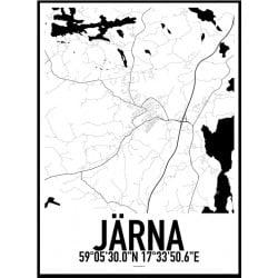 Järna Karta Poster