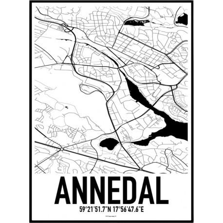 Annedal Sthlm Karta