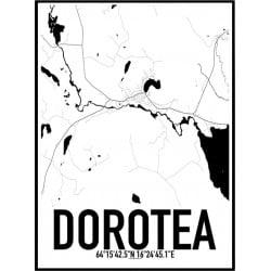 Dorotea Karta Poster