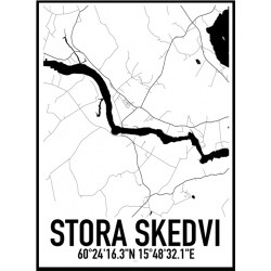 Stora Skedvi Karta