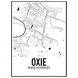 Oxie Karta Poster