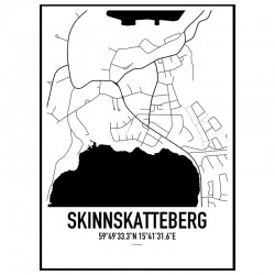 Skinnskatteberg Karta