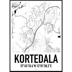 Kortedala Karta Poster