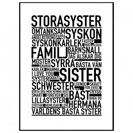 Storasyster Poster