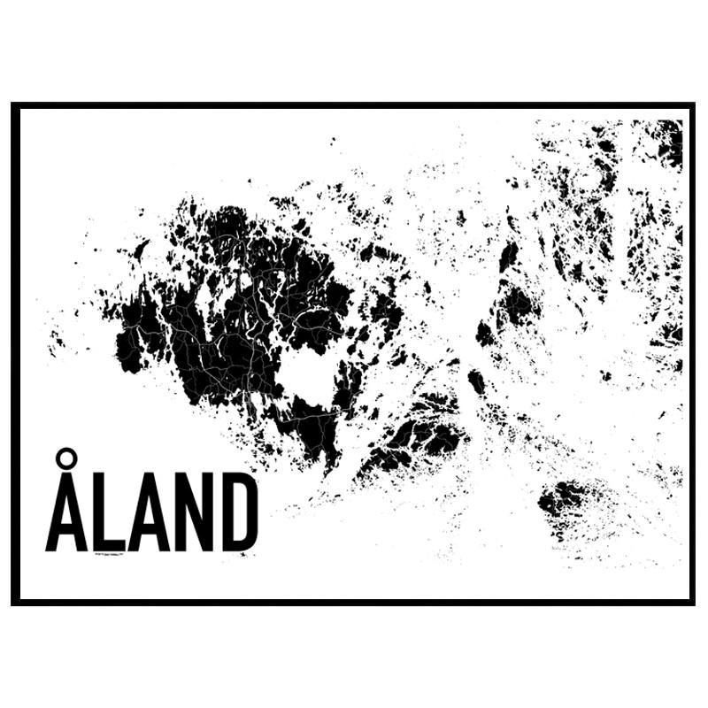 karta åland