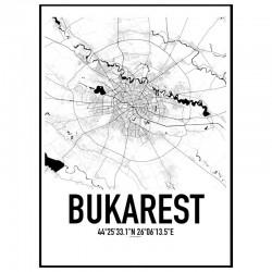 Bukarest Karta
