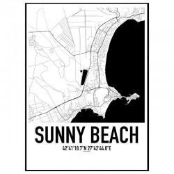Sunny Beach Karta