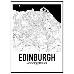 Edinburgh Karta